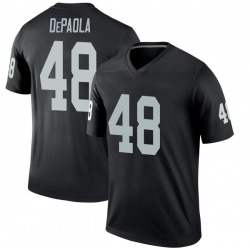 Andrew DePaola Oakland Raiders Youth Legend Nike Jersey - Black