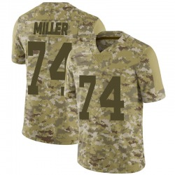 Kolton Miller Oakland Raiders Men's Limited 2018 Salute to Service Nike Jersey - Camo